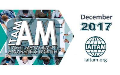 December is IT Asset Management Awareness Month