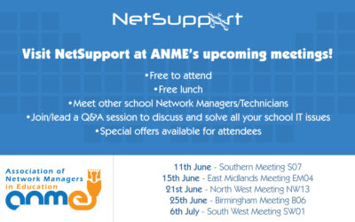 ANME events coming soon!