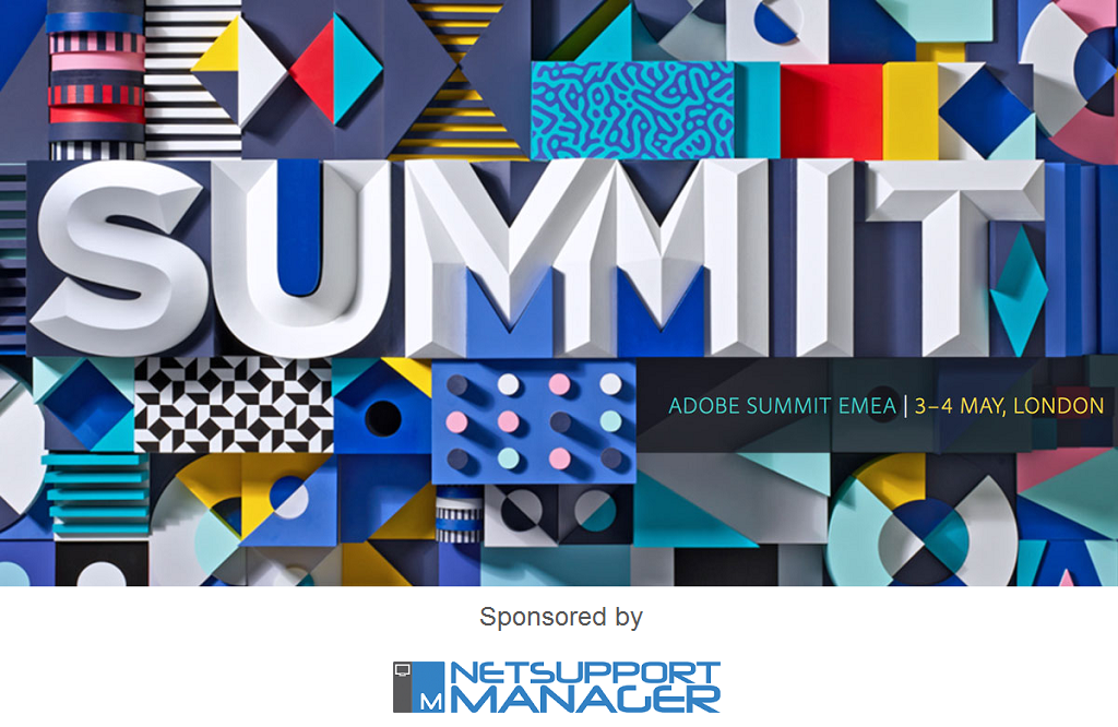 NetSupport Manager chosen to help manage technology at Adobe Summit