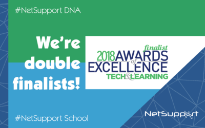 NetSupport scores two finalists' positions in the 2018 Tech&Learning Awards!