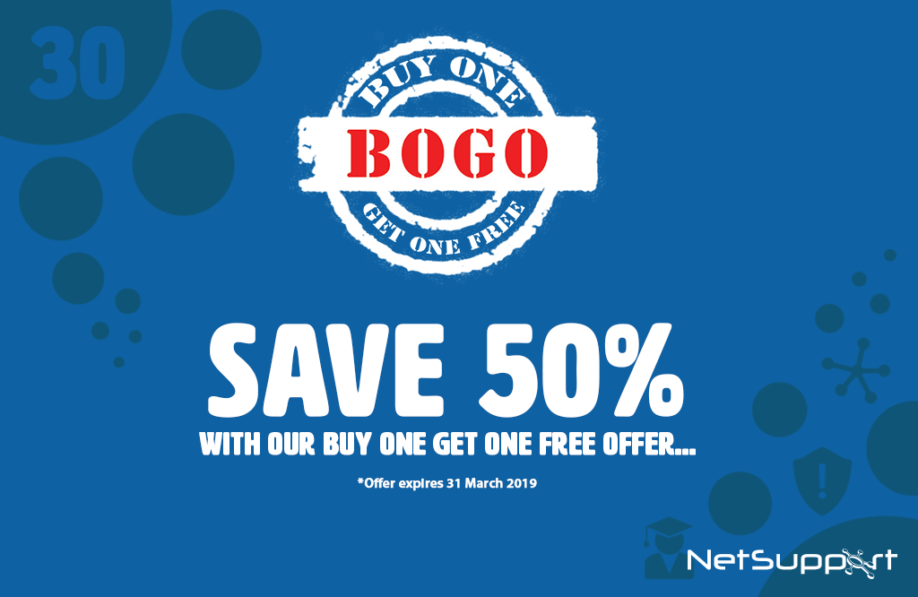 BOGO With NetSupport!