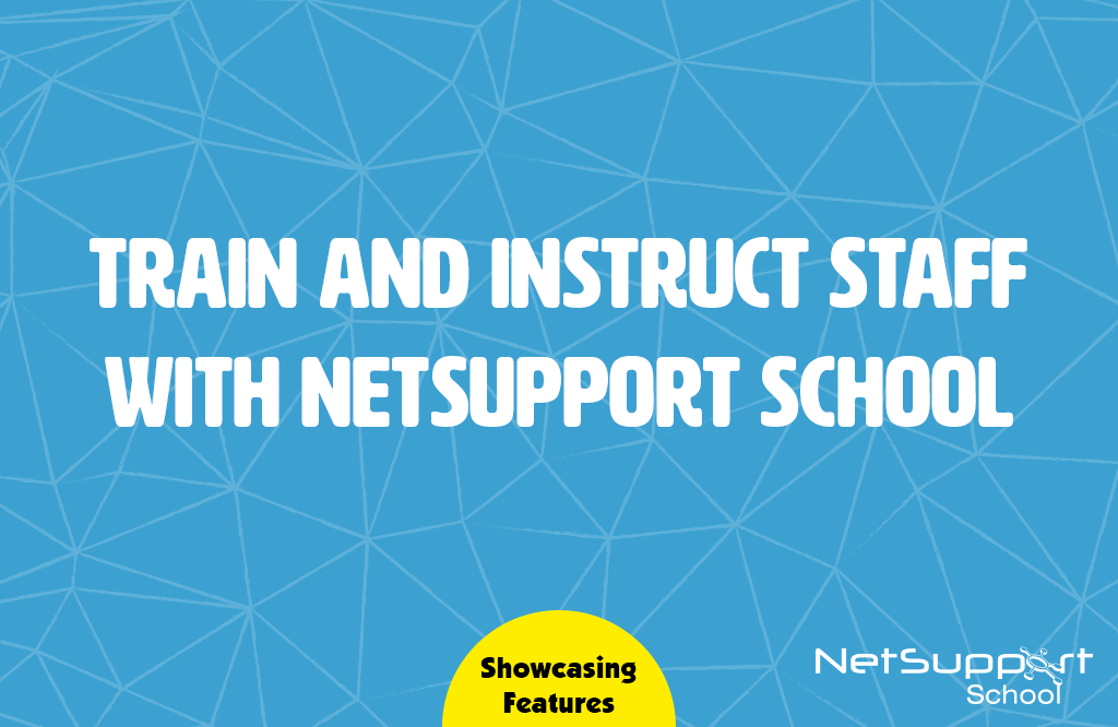 NetSupport School is used in organisations too…
