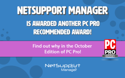 NetSupport Manager gets reviewed by PC Pro!