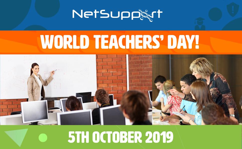 NetSupport celebrates World Teachers Day!