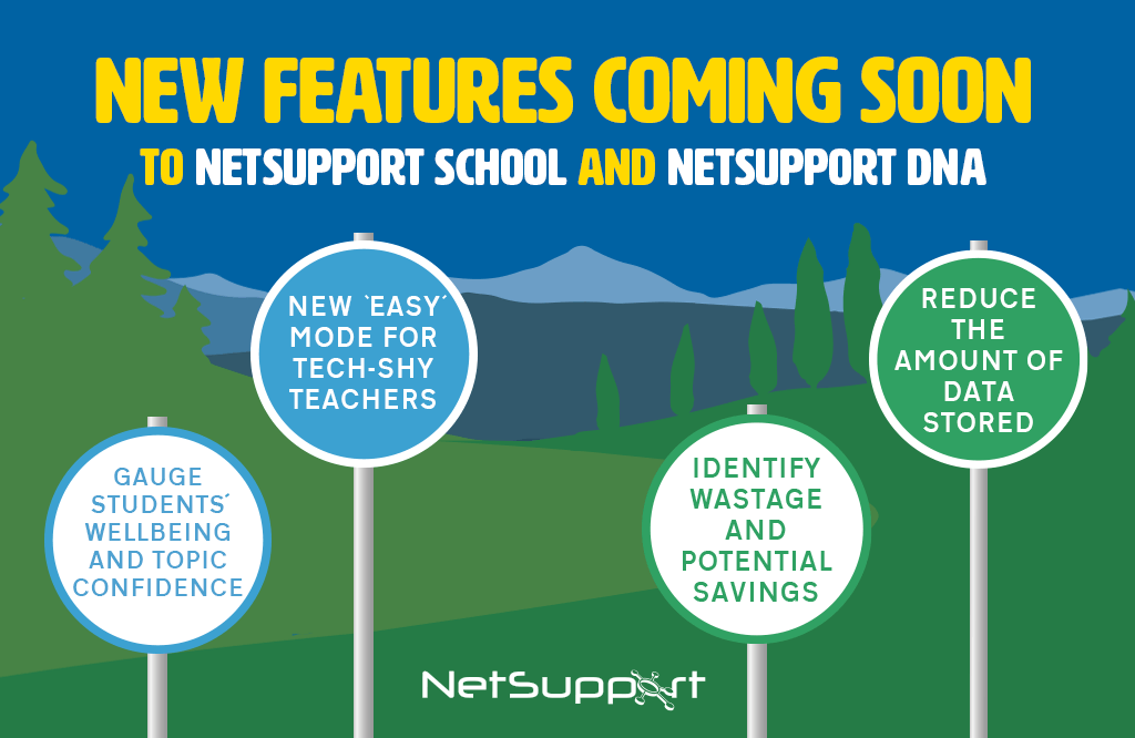 New features coming soon…