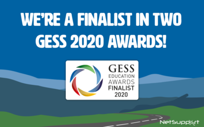 NetSupport is a 2 time GESS Awards finalist!