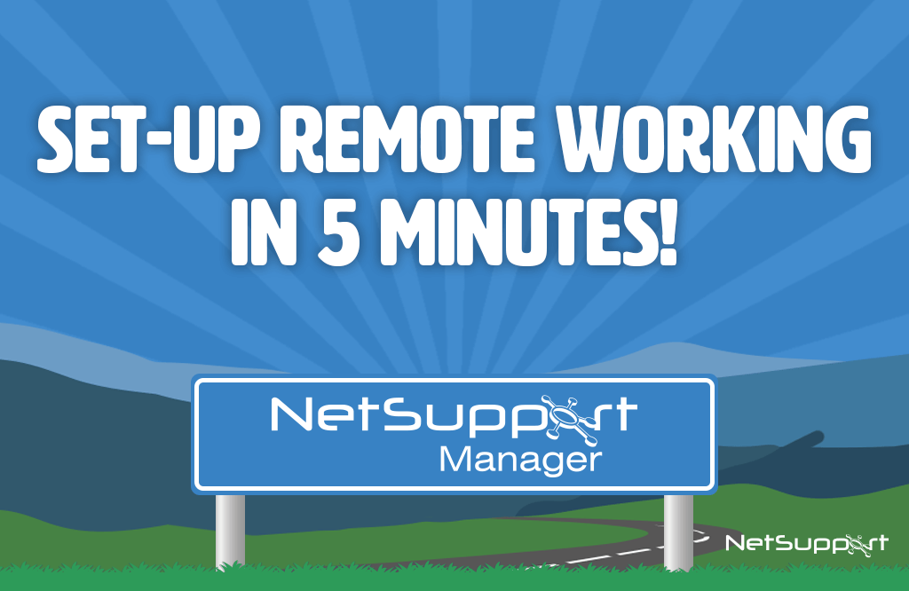 Set-up remote working in 5 minutes!