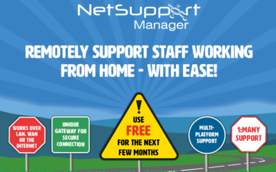 Remotely help staff working at home with free remote-control tools