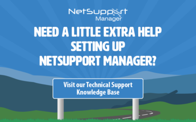 Supporting your free use of NetSupport Manager