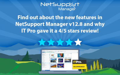 NetSupport Manager awarded 4/5 stars by IT Pro Magazine!