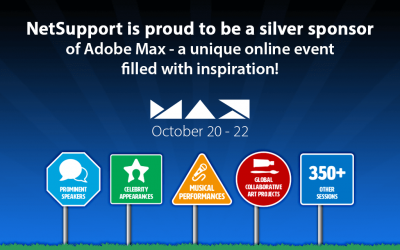 NetSupport is proud to be an Adobe Max Silver Sponsor!