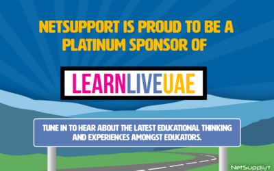 NetSupport is proud to sponsor LearnLiveUAE