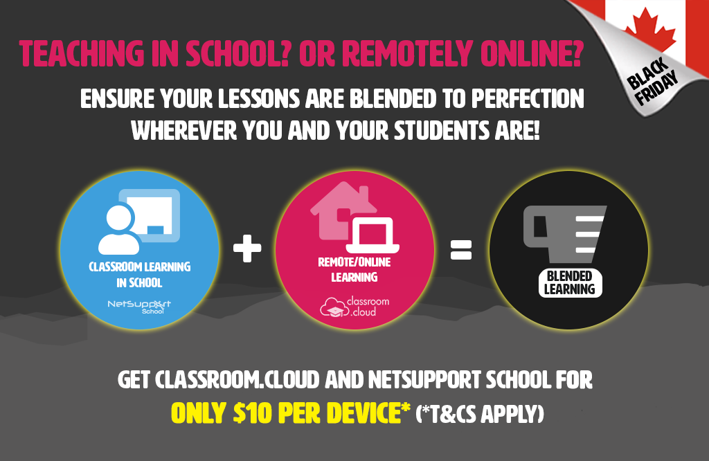 Equip your school with our Black Friday offer!