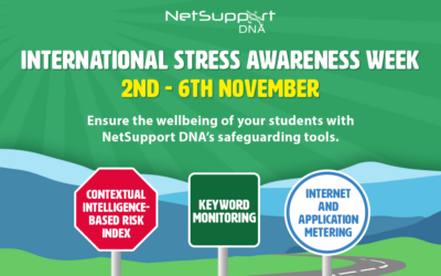 Ensure the wellbeing of your students with NetSupport DNA…