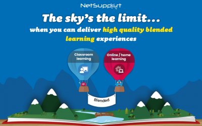 Deliver high-quality blended learning with NetSupport School and classroom.cloud
