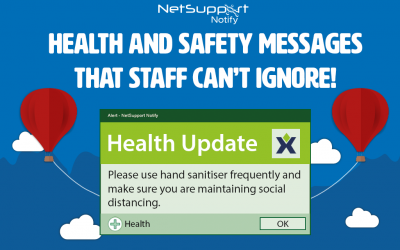 Health and safety messages that staff can't ignore!
