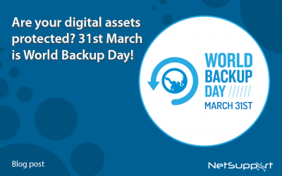 Are your digital assets protected? 31st March is World Backup Day!