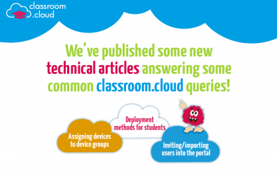 New technical resources for classroom.cloud!
