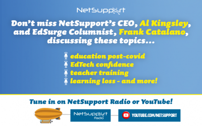 Don't miss Al Kingsley and Frank Catalano discussing key education topics…