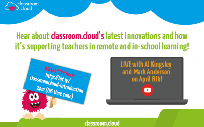 Join us tomorrow to learn more about classroom.cloud!