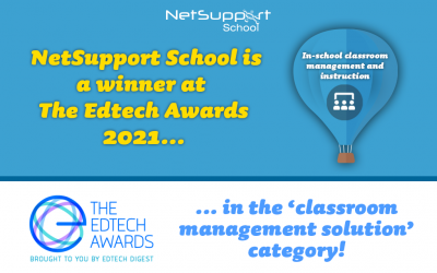 NetSupport School is a winner at The EdTech Awards 2021!