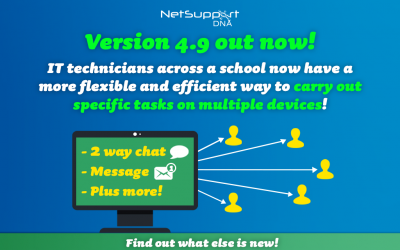 NetSupport DNA makes IT management even more flexible and efficient