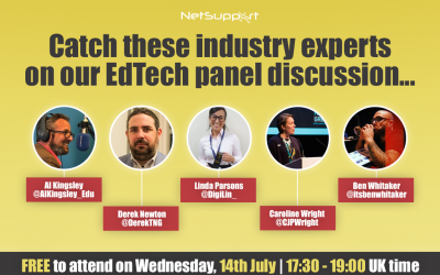 Catch these industry experts on our EdTech panel discussion…