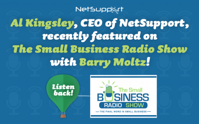 Listen to Al Kingsley on The Small Business Radio Show with Barry Moltz!