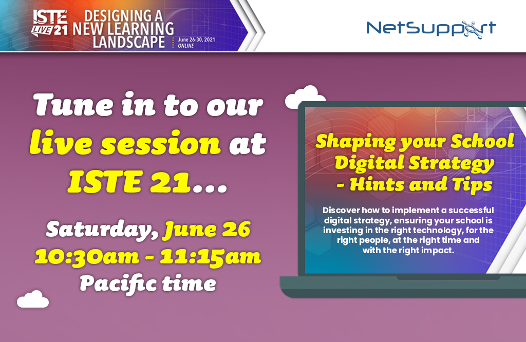 Join our session at ISTE tomorrow!