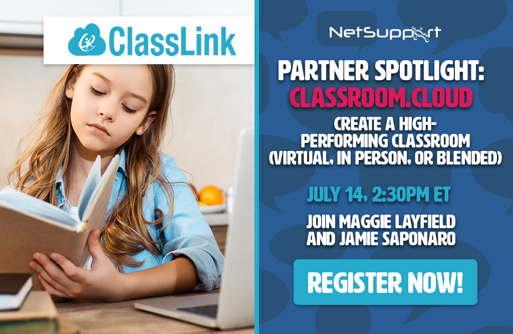 Join our Partner Showcase with ClassLink this week!