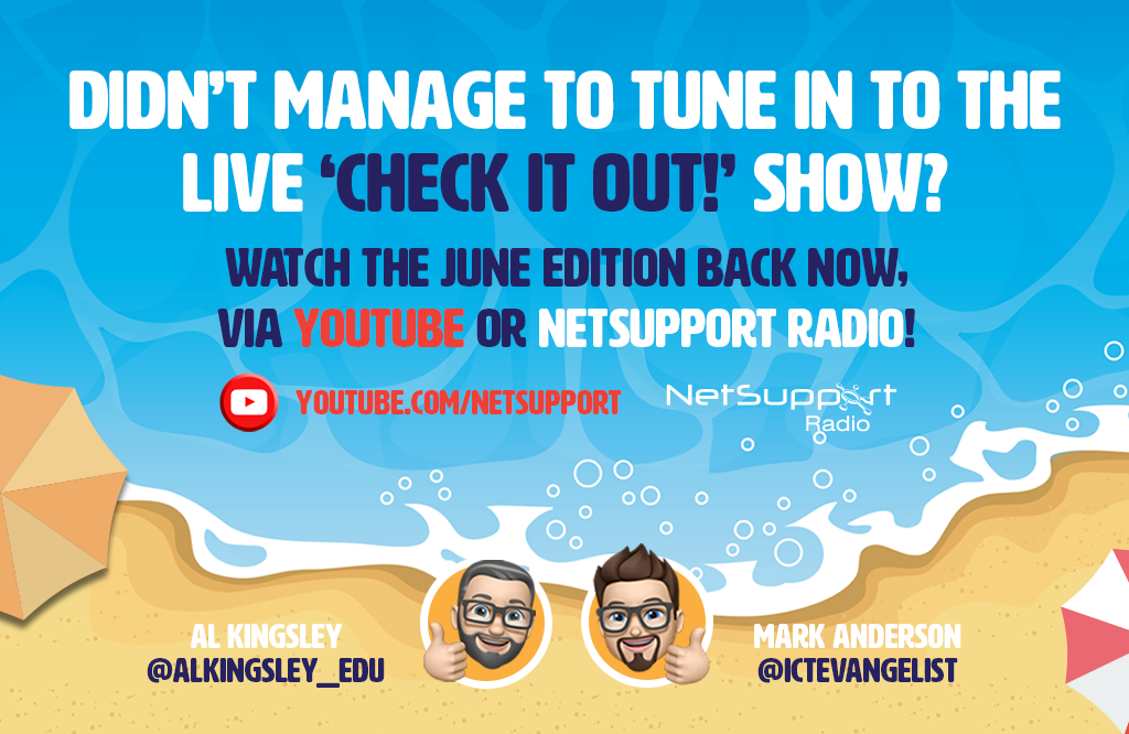 Watch our previous episode of the 'Check it out!' show today…