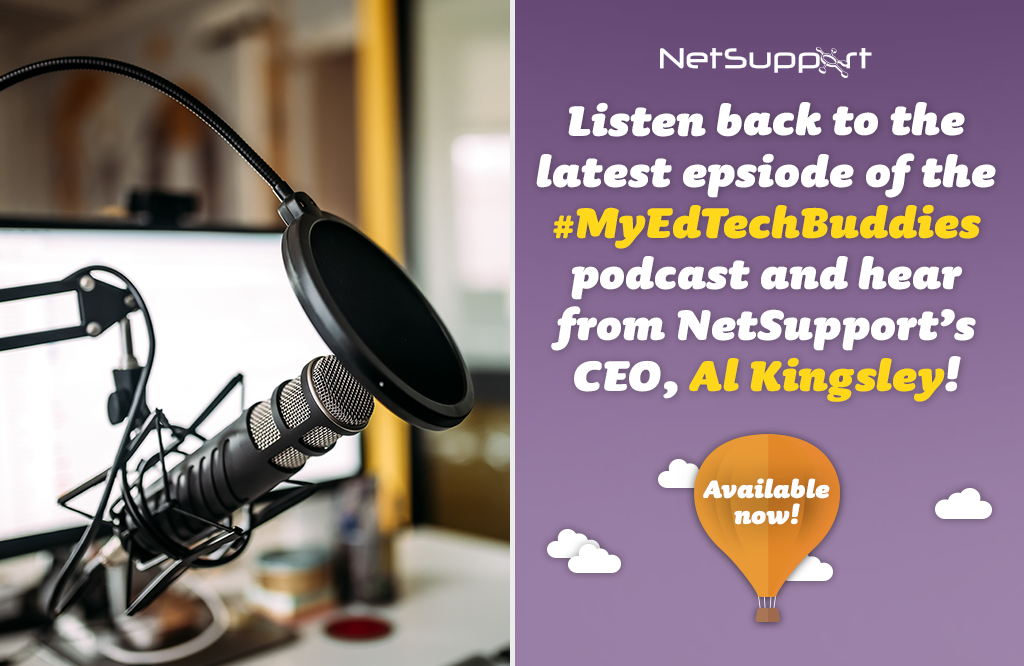 Listen to our CEO, Al Kingsley, on My EdTech Buddies now!