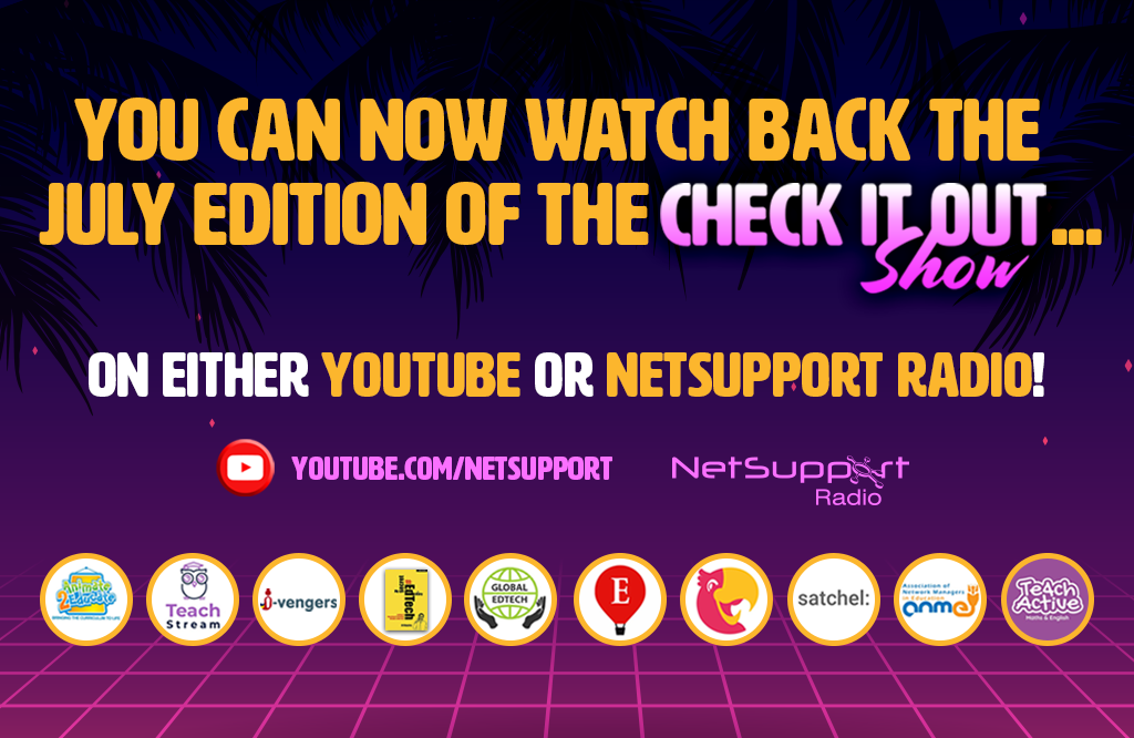 Watch back the July edition of the 'Check it out!' show