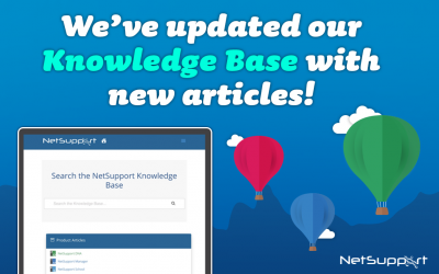 We've updated our Knowledge Base with new articles!