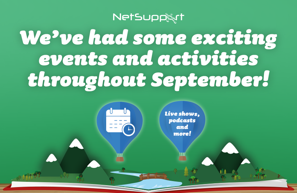 We've had some exciting events and activities throughout September!