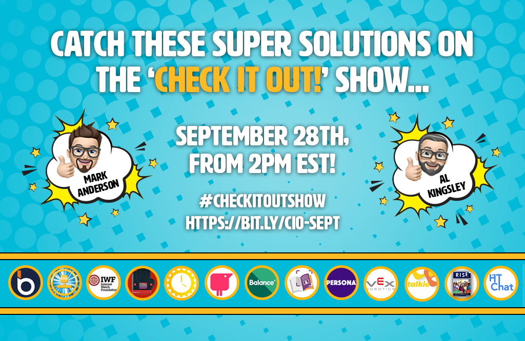 Watch the 'Check it out!' show today!