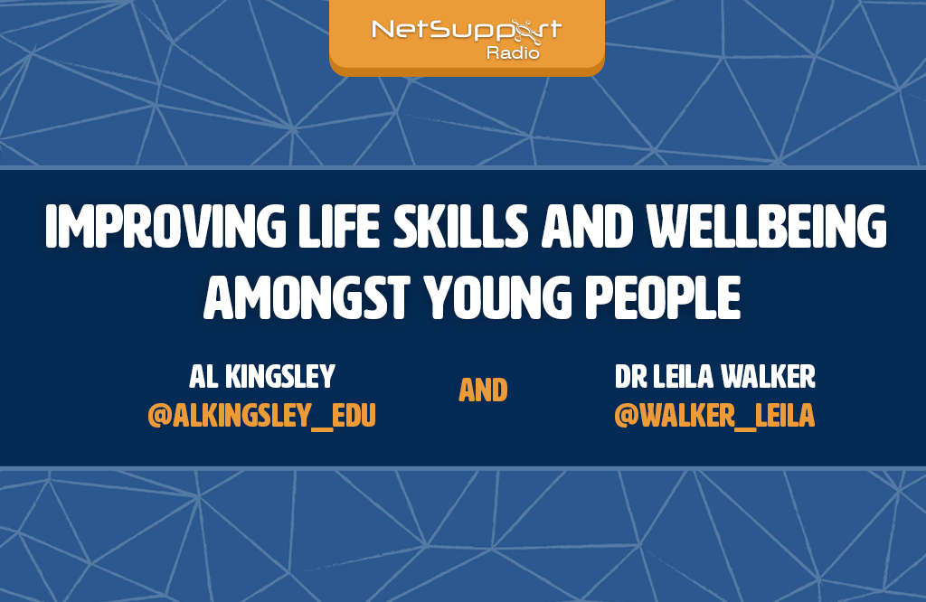 Check out the latest episode of the NetSupport Radio with Dr. Leila Walker
